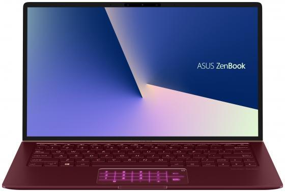 """Ноутбук ASUS ZenBook UX333FN-A4177T 13.3"""" 1920x1080 Intel Core i7-8565U 1024 Gb 16Gb Bluetooth 5.0 nVidia GeForce MX150 2048 Мб красный Windows 10 90NB0JW6-M04120 цена и фото"""