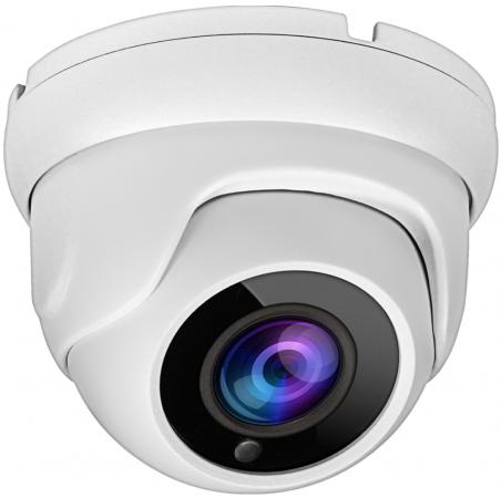 """Камера Видеонаблюдения GINZZU HAD-5033A купольная камера 4 в1 (AHD,TVI,CVI,CVBS) 5.0Mp (1/2.5"""""""" K03 Сенсор, ИК подстветка до 20м, IP66, металлический цена"""