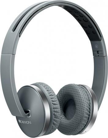 Гарнитура CANYON (серый,Bluetooth 4.2,управление громкостью и микрофоном,6 часов работы ,Mикро-USB,складные) (CNS-CBTHS2DG) все цены