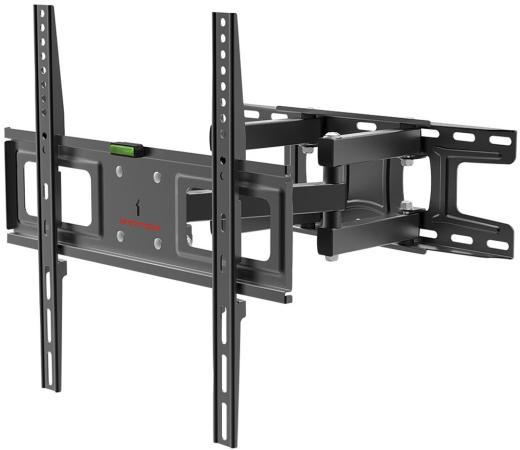 Фото - Кронштейн для телевизора Arm Media LCD-417 черный 26-55 макс.35кг настенный поворотно-выдвижной и наклонный кронштейн для телевизора arm media pt 15 new 32 55 настенный поворотно выдвижной и наклонный