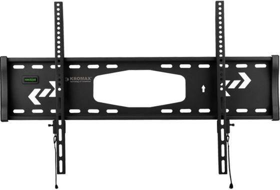 Фото - Кронштейн для телевизора Kromax STAR-1 черный 32-90 макс.81кг настенный фиксированный кронштейн kromax star 2 черный 32 90 наклонный vesa 800x500мм до 90 кг