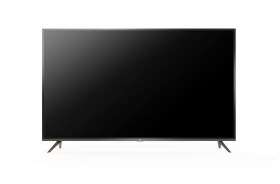 Фото - Телевизор LED TCL 65 L65P8US стальной/Ultra HD/60Hz/DVB-T2/DVB-C/DVB-S2/USB/WiFi/Smart TV (RUS) телевизор tcl l43s6500 43 full hd