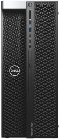 Купить ПК Dell Precision T7820 MT XeSi 4210 (2.2)/32Gb/2Tb 7.2k/SSD256Gb/DVDRW/Windows 10 Professional 64/GbitEth/950W/клавиатура/мышь/черный