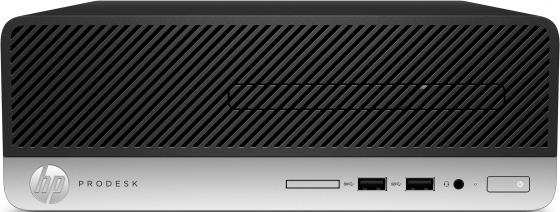 Купить ПК HP ProDesk 400 G6 SFF i3 9100 (3.6)/4Gb/1Tb 7.2k/UHDG 630/DVDRW/Windows 10 Professional 64/GbitEth/180W/клавиатура/мышь/черный