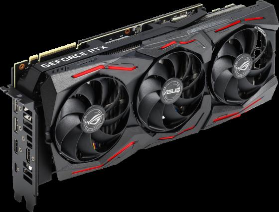Видеокарта Asus PCI-E ROG-STRIX-RTX2080S-A8G-GAMING nVidia GeForce RTX 2080SUPER 8192Mb 256bit GDDR6 1650/15500/HDMIx2/DPx2/Type-Cx1/HDCP Ret