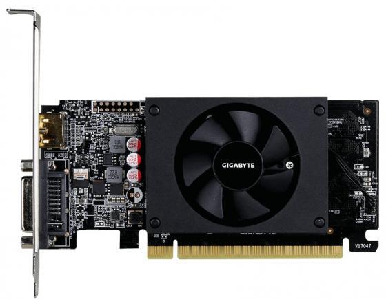 Видеокарта Gigabyte PCI-E GV-N710D5-1GL nVidia GeForce GT 710 1024Mb 64bit GDDR5 954/5010 DVIx1/HDMIx1/HDCP Ret low profile складной нож bamboo viking nordway