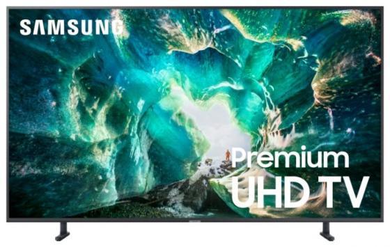 Купить Телевизор LED 82 Samsung UE82RU8000UXRU серебристый 3840x2160 100 Гц Wi-Fi Smart TV RJ-45 Bluetooth