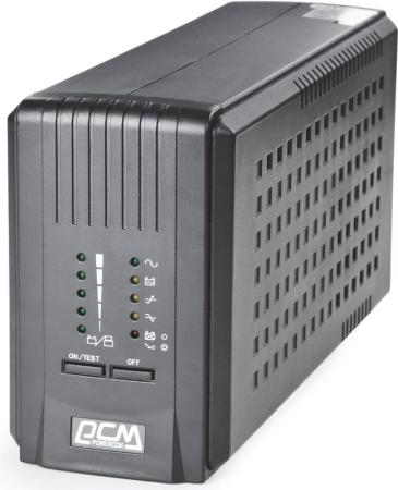 Источник бесперебойного питания Powercom Smart King Pro SPT-700-II 560Вт 700ВА черный uninterruptible power supply powercom smart king pro spt 500 home improvement electrical equipment