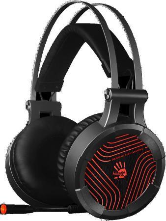 цена Наушники с микрофоном A4 Bloody G530 черный/серый 1.8м мониторы оголовье (G530) онлайн в 2017 году