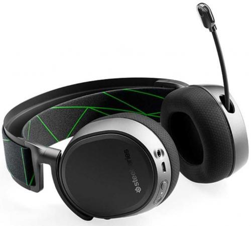 Наушники с микрофоном Steelseries Arctis 9X черный накладные BT оголовье (61483) цена