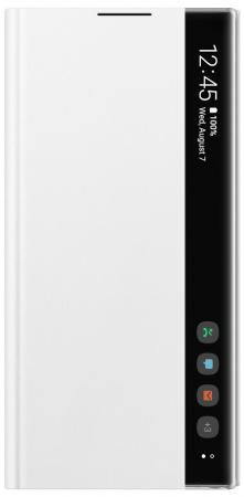 Чехол (флип-кейс) Samsung для Samsung Galaxy Note 10+ Clear View Cover белый (EF-ZN975CWEGRU) цена и фото