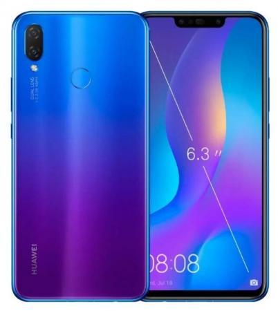 Смартфон Huawei Nova 3i фиолетовый 6.3 64 Гб LTE Wi-Fi GPS 3G Bluetooth 51092XYC смартфон