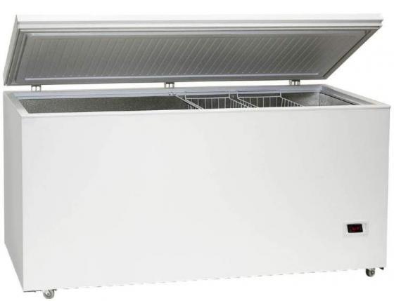 лучшая цена Морозильный ларь Бирюса Б-560FKDQ белый