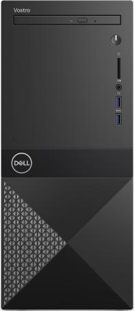 ПК Dell Vostro 3670 MT i3 9100 (3.6)/4Gb/1Tb 7.2k/UHDG 630/DVDRW/CR/Windows 10 Professional 64/GbitEth/WiFi/BT/290W/клавиатура/мышь/черный цена и фото