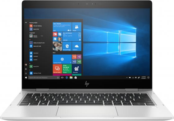 HP EliteBook x360 830 G6 13.3(1920x1080)/Touch/Intel Core i5 8265U(1.6Ghz)/8192Mb/256SSDGb/noDVD/Int:Intel HD Graphics 620/53WHr/war 3y/1.35kg/silver/W10Pro hp elitedesk 800 g4 sff intel core i5 8500 3ghz 8192mb 256ssdgb dvdrw war 3y w10pro displayport