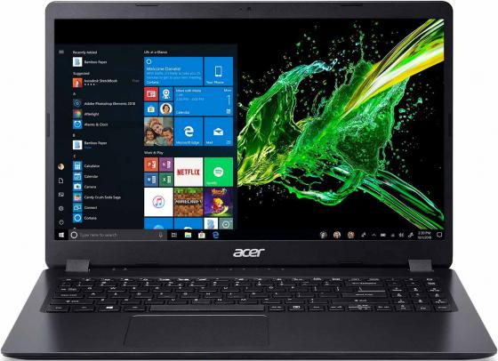 "Ноутбук Acer Aspire A315-54K-348J Core i3 7020U/4Gb/1Tb/Intel HD Graphics 620/15.6""/FHD (1920x1080)/Linux/black/WiFi/BT/Cam все цены"
