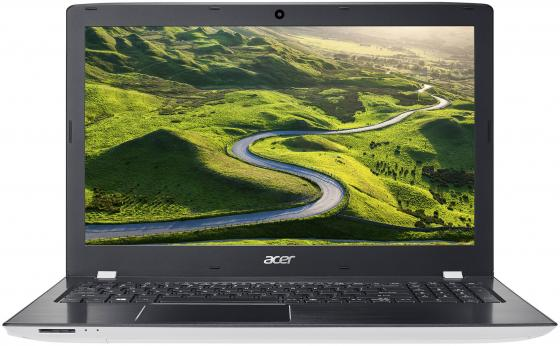 "Ноутбук Acer Aspire E15 E5-576G-59H8 Core i5 7200U/8Gb/1Tb/DVD-RW/nVidia GeForce Mx130 2Gb/15.6""/FHD (1920x1080)/Linux/black/white/WiFi/BT/Cam цена и фото"