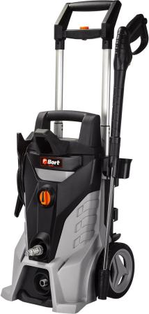 Фото - Bort KEX-2500 Мойка высокого давления [93720100] { 2400 Вт, максимальное давление 180 бар, рабочее давление 150 бар, 7,5 л/мин, 8,9 кг, набор аксессуаров 3 шт } компрессор автомобильный eco ae 015 3 12 в 150 вт 40 л мин 10 бар манометр 7 бар сумка