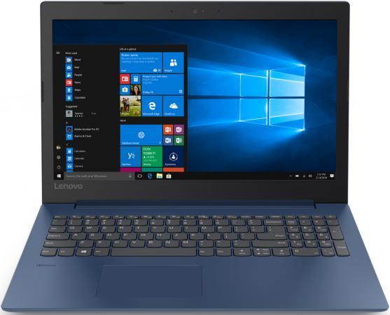Ноутбук Lenovo IdeaPad 330-15ARR 15.6 1920x1080 AMD Ryzen 5-2500U 256 Gb 4Gb AMD Radeon 520 2048 Мб синий Windows 10 Home 81D200KVRU ноутбук lenovo ideapad 330 17ast 81d7006fru amd a9 9425 3 1ghz 4096mb 1000gb amd radeon r530 2048mb wi fi bluetooth cam 17 3 1920x1080 windows 10 64 bit