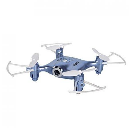 Квадрокоптер Syma X21W 1Mpix WiFi ПДУ синий