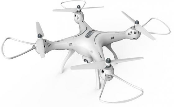 Квадрокоптер Syma X8Pro 1Mpix 720p GPS ПДУ белый все цены