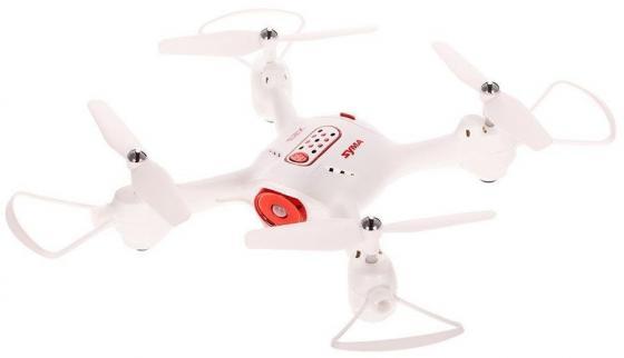 Квадрокоптер Syma X23 WiFi ПДУ белый все цены