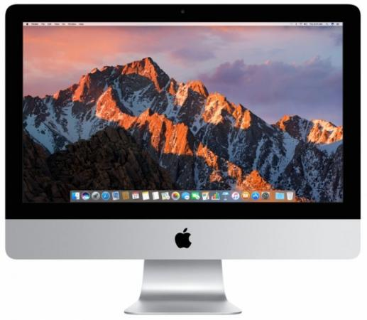 "купить Моноблок 21.5"" Apple iMac 4096 x 2304 Intel Core i5-8500B 8Gb 256 Gb AMD Radeon Pro Vega 20 4096 Мб macOS серебристый Z0VY003V4, Z0VY/25 по цене 150590 рублей"
