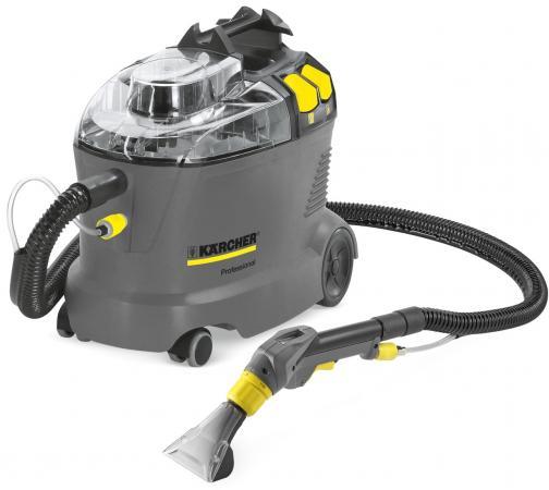 Пылесос моющий Karcher Puzzi 8/1 C 1200Вт серый/желтый цена