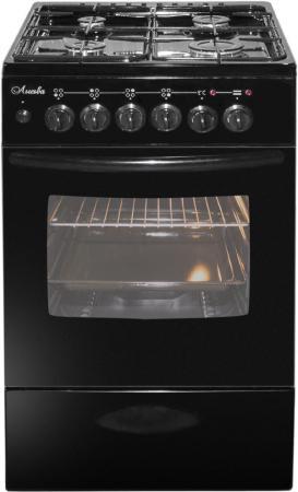 Плита Комбинированная Лысьва ЭГ 404 М2С-2у черный (без крышки)