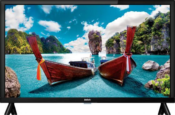 """Телевизор 24"""" BBK 24LEM-1058/T2C черный 1366x768 VGA HDMI USB телевизор 24 philips 24pht4031 60 hd 1366x768 usb hdmi черный"""