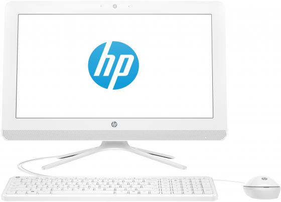 "Моноблок 19.5"" FHD HP 20-c431ur white (AMD A4 9125/4Gb/500Gb/Radeon R3/noDVD/W10) (7JT07EA) цена и фото"