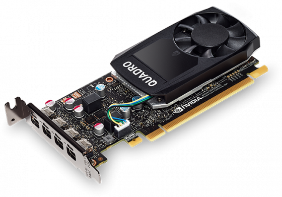 Видеокарта PNY Quadro P620 VCQP620BLK PCI-E 2048Mb GDDR5 128 Bit OEM без комплектов, только карты цена и фото