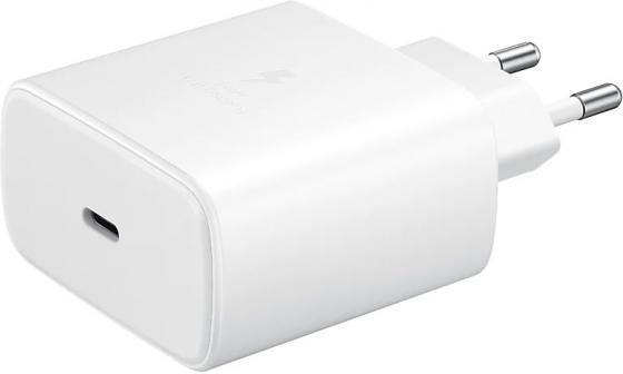 Сетевое зар./устр. Samsung EP-TA845 3A PD для Samsung кабель USB Type C белый (EP-TA845XWEGRU)