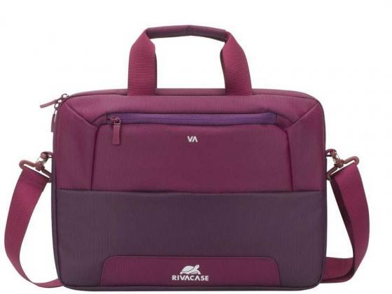"""Сумка для ноутбука 14"""" Riva 7727 фиолетовый полиэстер"""