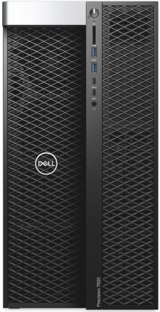 Купить ПК Dell Precision T7920 MT XeSi 4210 (2.2)/32Gb/SSD512Gb/DVDRW/Windows 10 Professional 64/GbitEth/1400W/клавиатура/мышь/черный