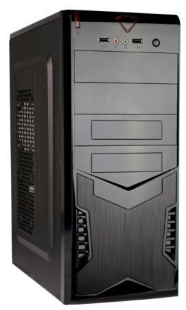 Exegate EX280385RUS Корпус Miditower Exegate CP-604 Black, ATX, <без БП>, 2*USB, Audio блендер unit usb 604 beige black