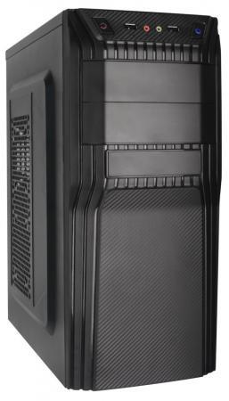 MidiTower QoRi-3203B 2*USB2.0, audio, reset, ATX,450W 80mm корпус atx super power qori 3203b без бп чёрный
