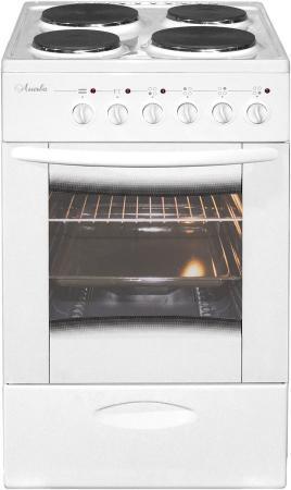 цена на Плита Электрическая Лысьва ЭП 402 МС белый эмаль (стеклянная крышка)