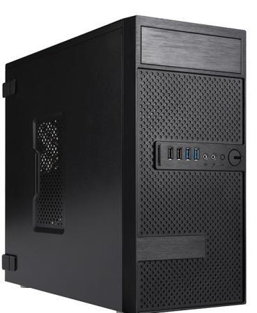 Корпус microATX InWin EFS063BL 500 Вт чёрный 6134715 корпус microatx inwin efs063bl 500 вт чёрный 6134715