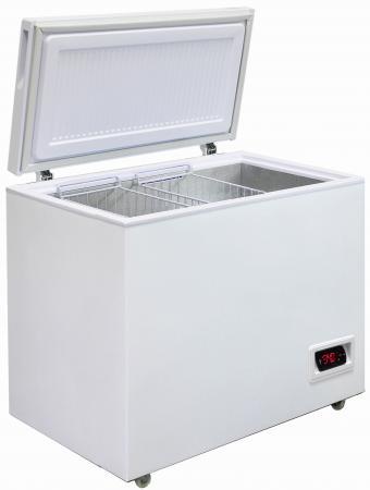 Морозильный ларь Бирюса Б-305FKDQ белый 251Вт