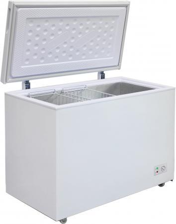 лучшая цена Морозильный ларь Бирюса 355KX белый