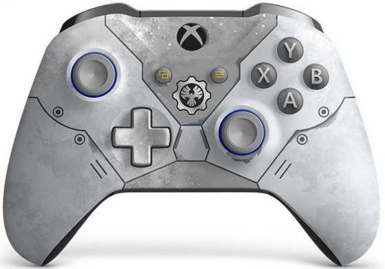 лучшая цена Геймпад Беспроводной Microsoft Gears 5: Кейт Диаз серый для: Xbox One (WL3-00161)