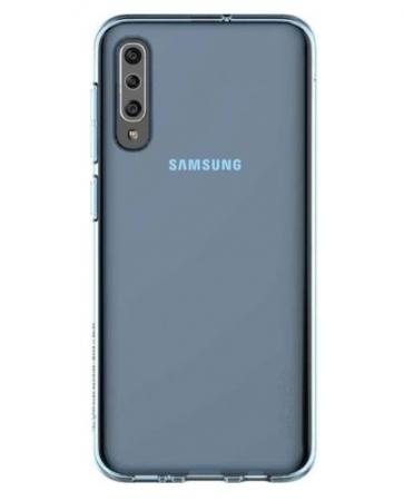 Купить Чехол (клип-кейс) Samsung для Samsung Galaxy A30s araree A cover синий (GP-FPA307KDALR)