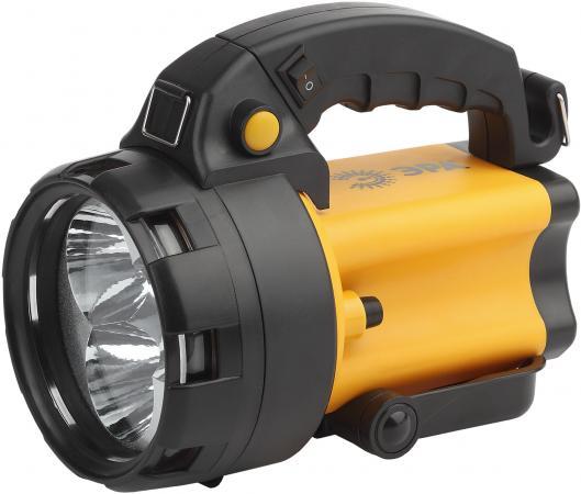 ЭРА Б0031035 Фонарь-прожектор PA-604 АЛЬФА {3 светодиода 1Вт, аккумулятор 4В 4,5Ач, два режима яркости, сигн. красный фонарь, ЗУ 220В+12В} цена 2017