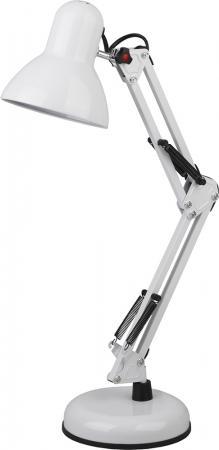ЭРА Б0035069 Настольный светильник N-214-E27-40W-W белый