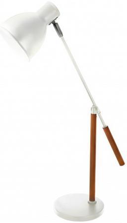 Camelion KD-333 C01 белый (Светильник настольный, 230V, 40W, E27)