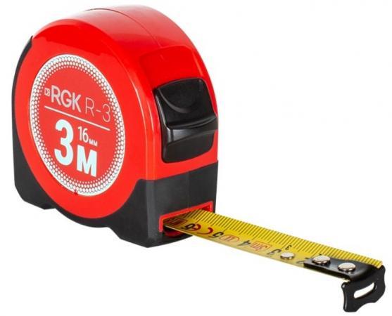 Рулетка RGK R3 длина 3м, класс точности II лазерная рулетка rgk d30