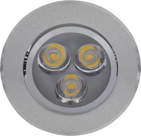 Светильник DE FRAN FT 922 led поворотный с пра и led 270лм алюминий теплый белый 3100к светильник de fran ft 861 ch