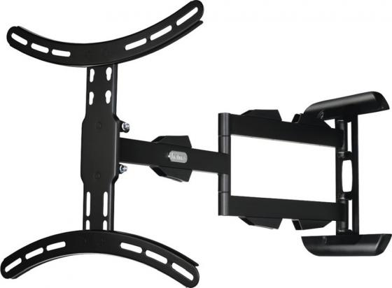 Фото - Кронштейн для телевизора Hama H-108712 черный 32-65 макс.25кг настенный поворотно-выдвижной и наклонный кронштейн для телевизора hama h 108713 макс 25кг черный