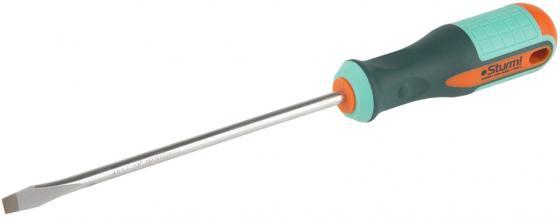 Отвертка STURM! 1040-09-SL6-150 шлицевая 6x150. магн.